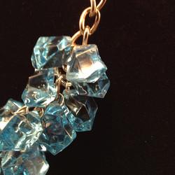 Blueice necklace - details
