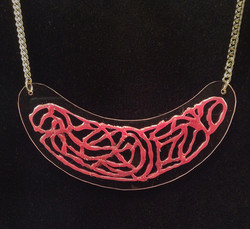Pinksil necklace
