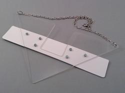 Birtri white necklace