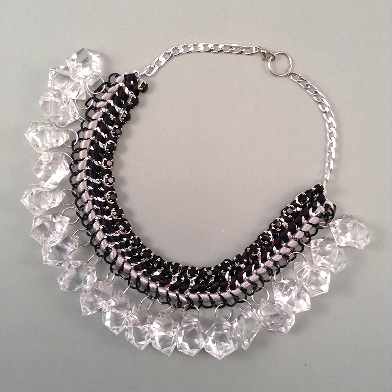 Grey Ice necklace