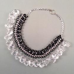 Grey Ice necklace