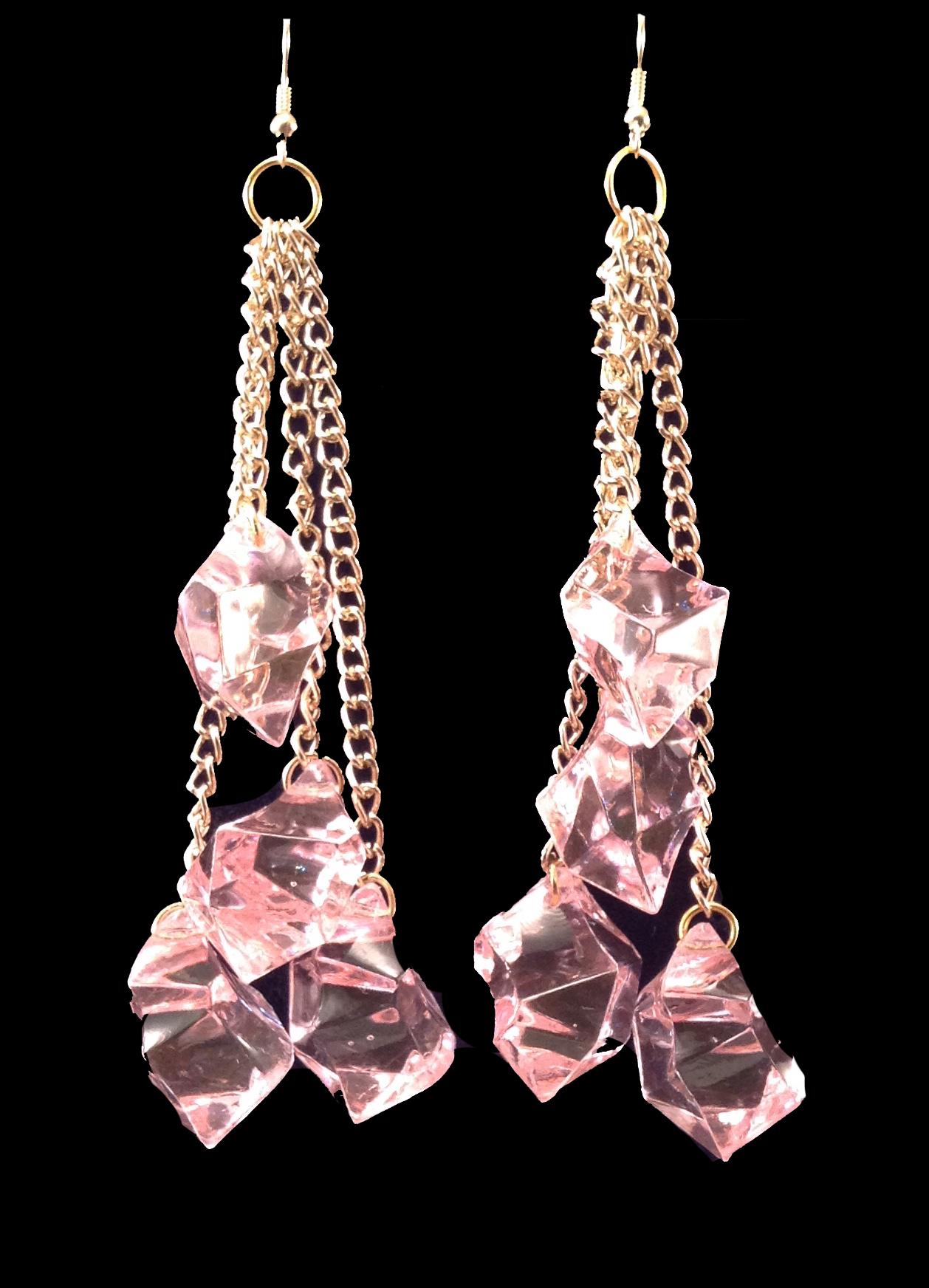 Pinkice earrings