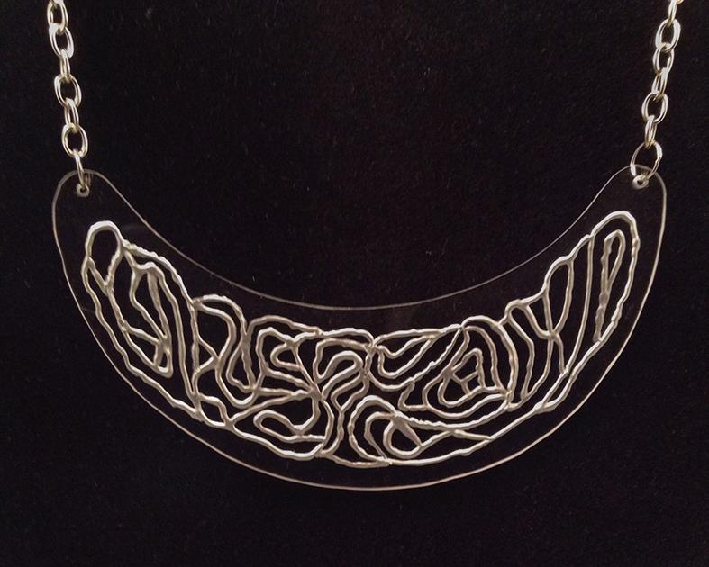 Silversil necklace
