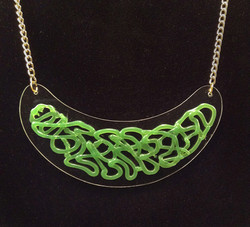 Greensil necklace