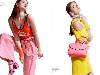 """Editorial """"Galvanized Loved Colors"""" Tinsel tokyo Magazine (L.A)"""