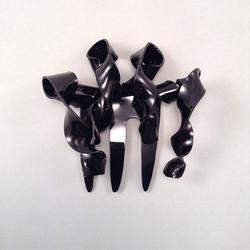 Black stalactite
