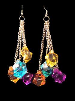 Oranpurp earrings
