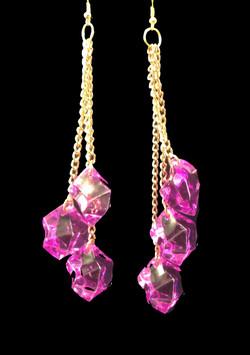 Purplice earrings