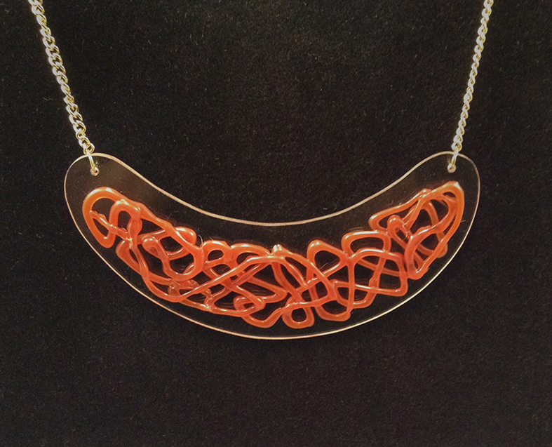 Redsil necklace