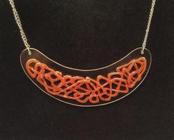 Redsil necklacew