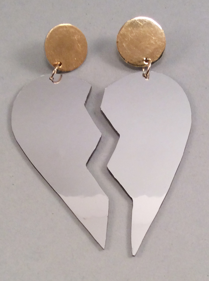 Silheart earrings