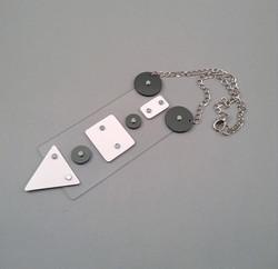 Whitecredit necklace