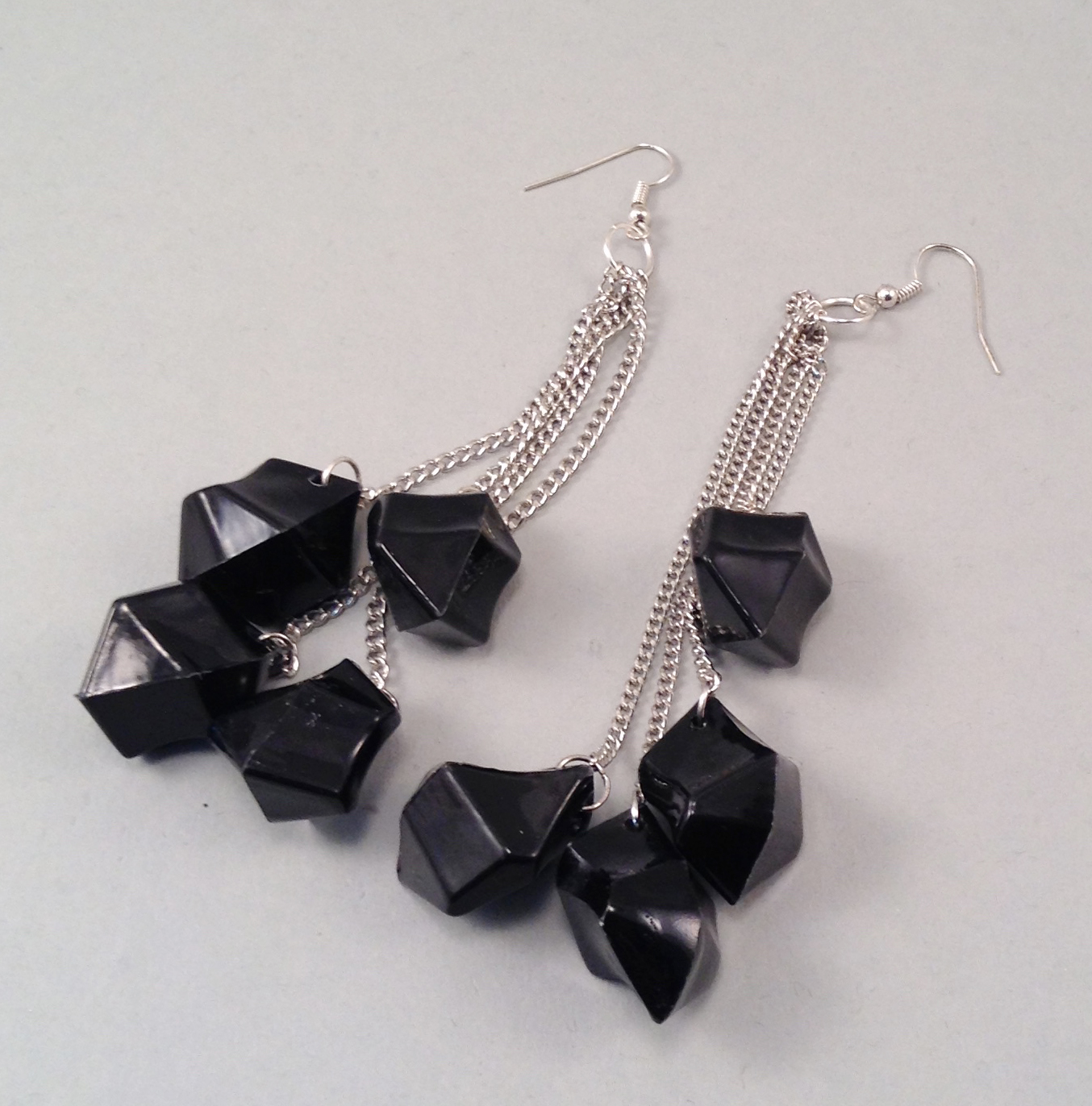 Blackice earrings