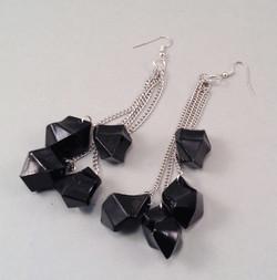 Blackice earrings