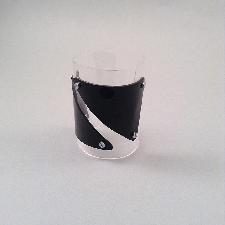 Black bigtri bracelet