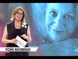 Viva la vida - Toñi Moreno. Telecinco.