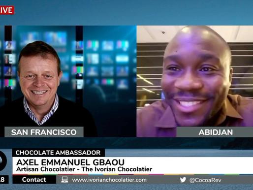 Axel Emmanuel Gbaou, Cocoa Ambassador and Chocolatier.
