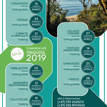 Calendario Primaverile 2019