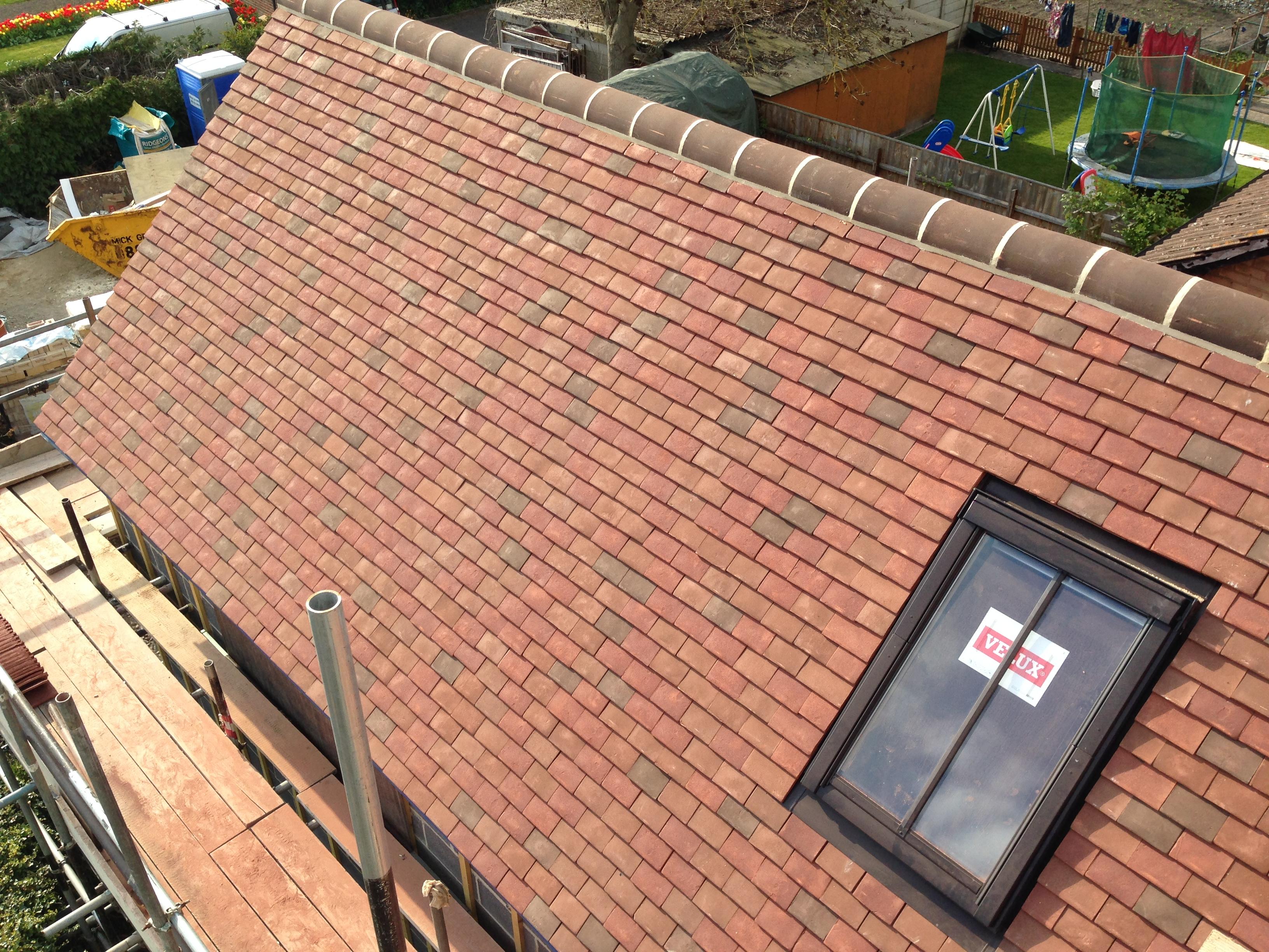 Goxhill Plain tiles & Velux windows