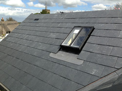 Natural slate & conservation window