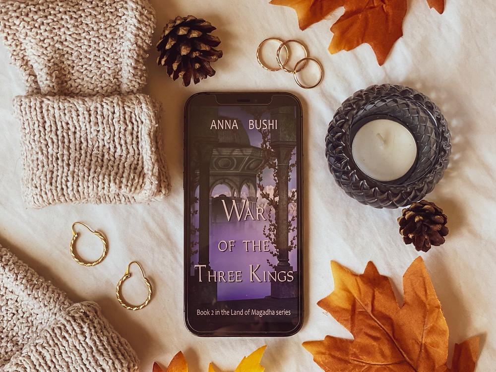 War of the Three Kings Anna Bushi book review Coffee, Book, and Candle