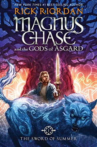 Sword of Summer by Rick Riordan book review by book blog Coffee, Book, & Candle in honor of the Norsevember reading challenge.