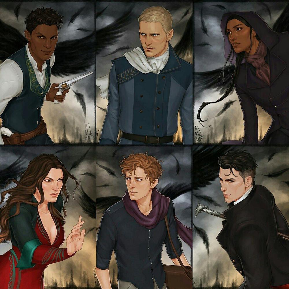 Merwild Six of Crows art