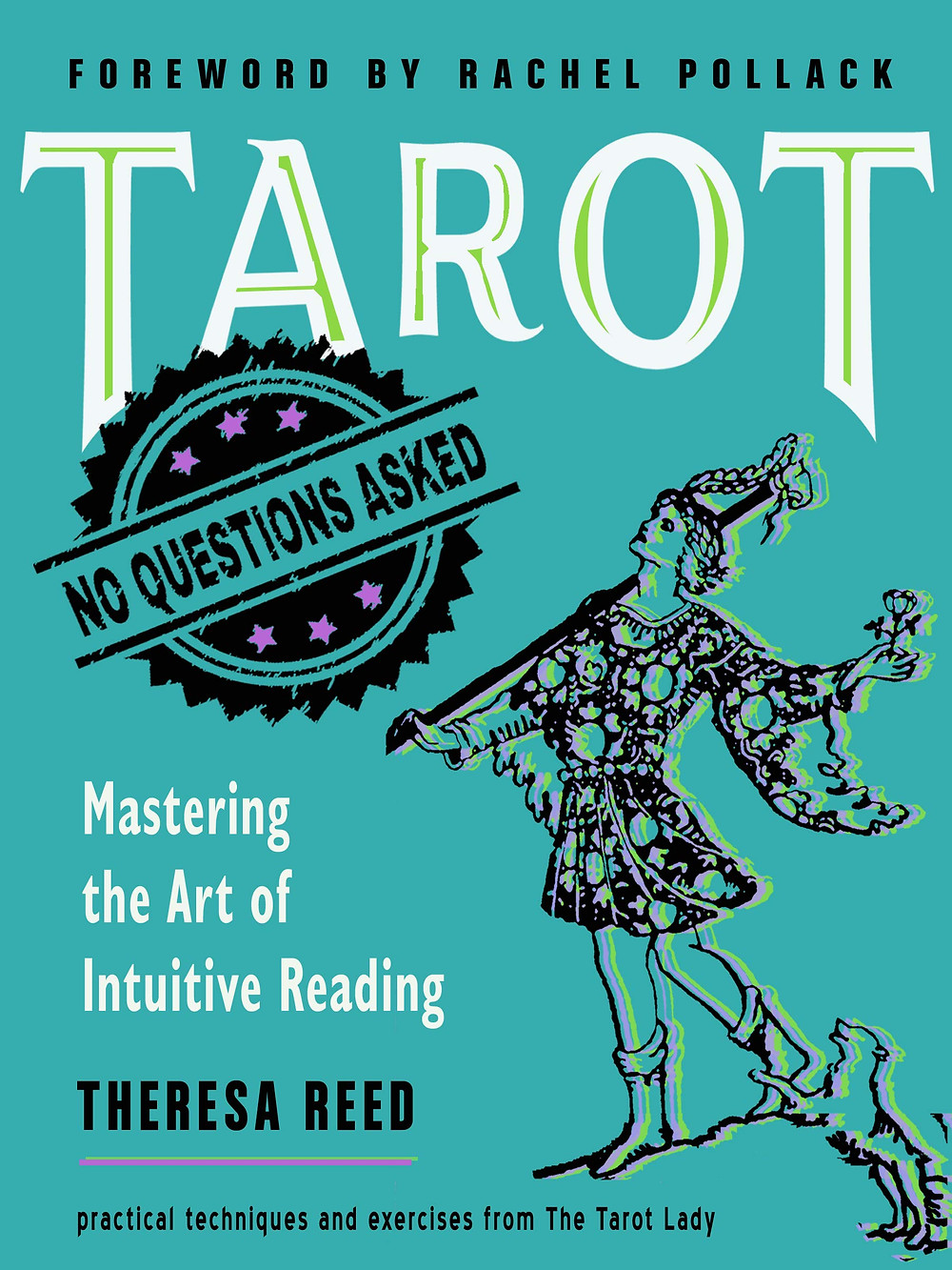 Tarot No Questions Asked by Theresa Reed Christmas book gift for witches
