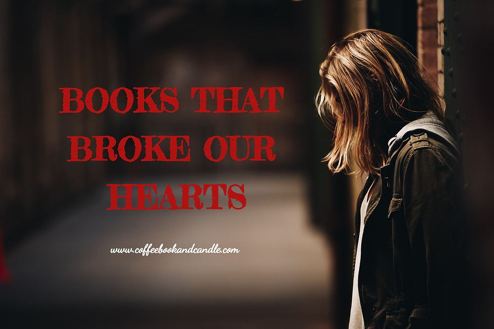 Books That Broke Our Hearts Coffee, Book, and Candle