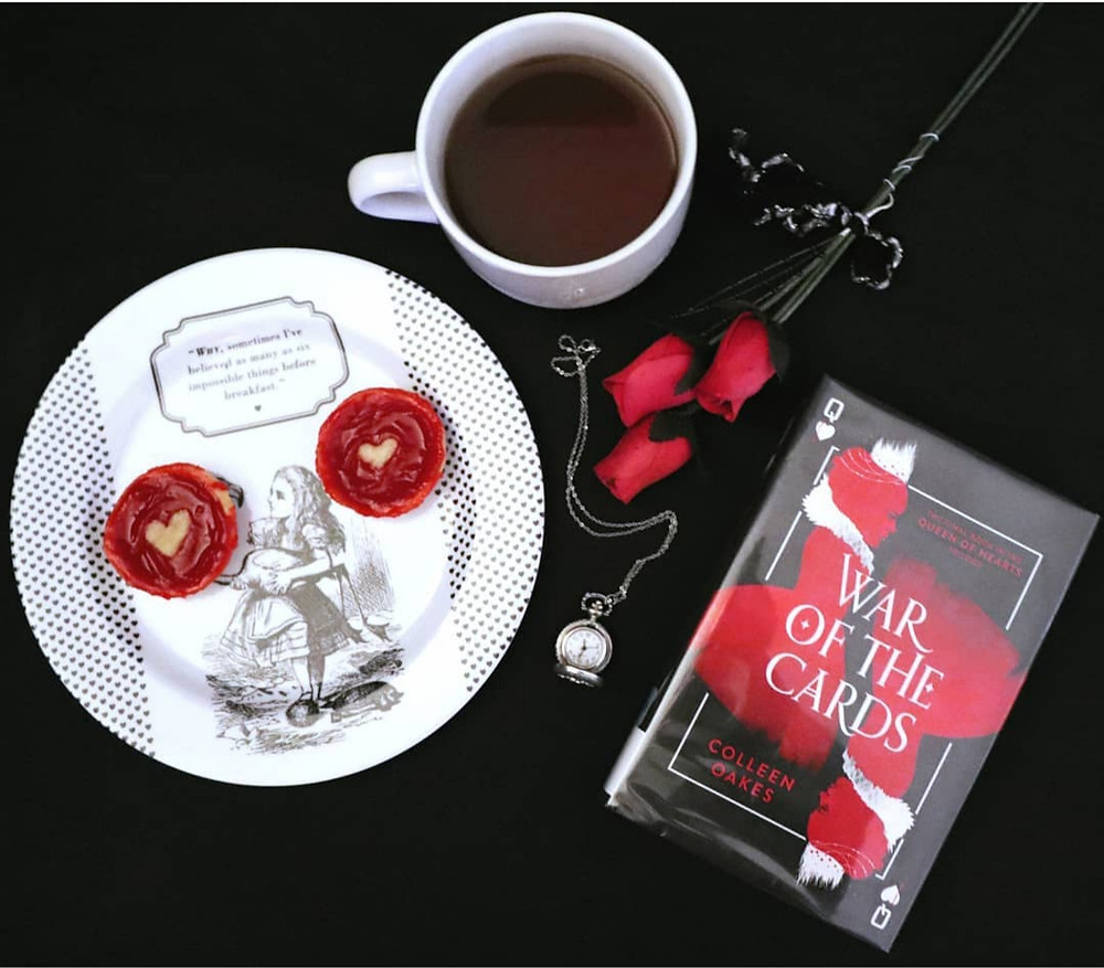 Coffee, Book, & Candle Queen of Hearts trilogy by Colleen Oakes book review