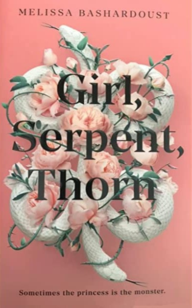 Girl, Serpent, Thorn Book Review Coffee, Book, and Candle