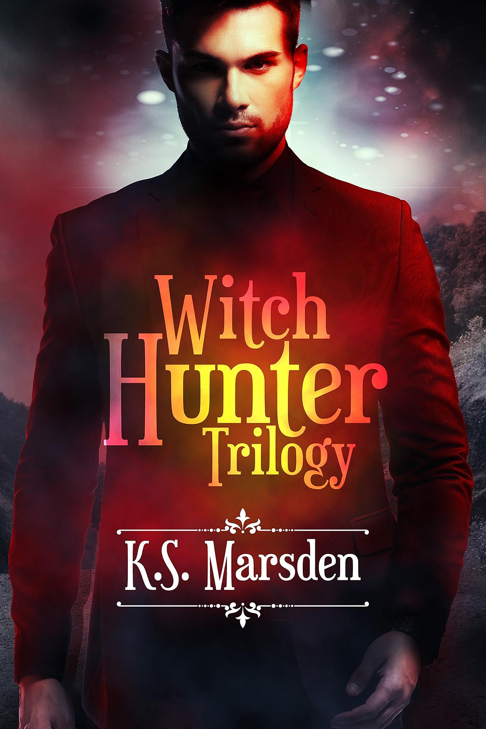 Coffee, Book, & Candle book review indie Witch Hunter Trilogy K. S. Marsden