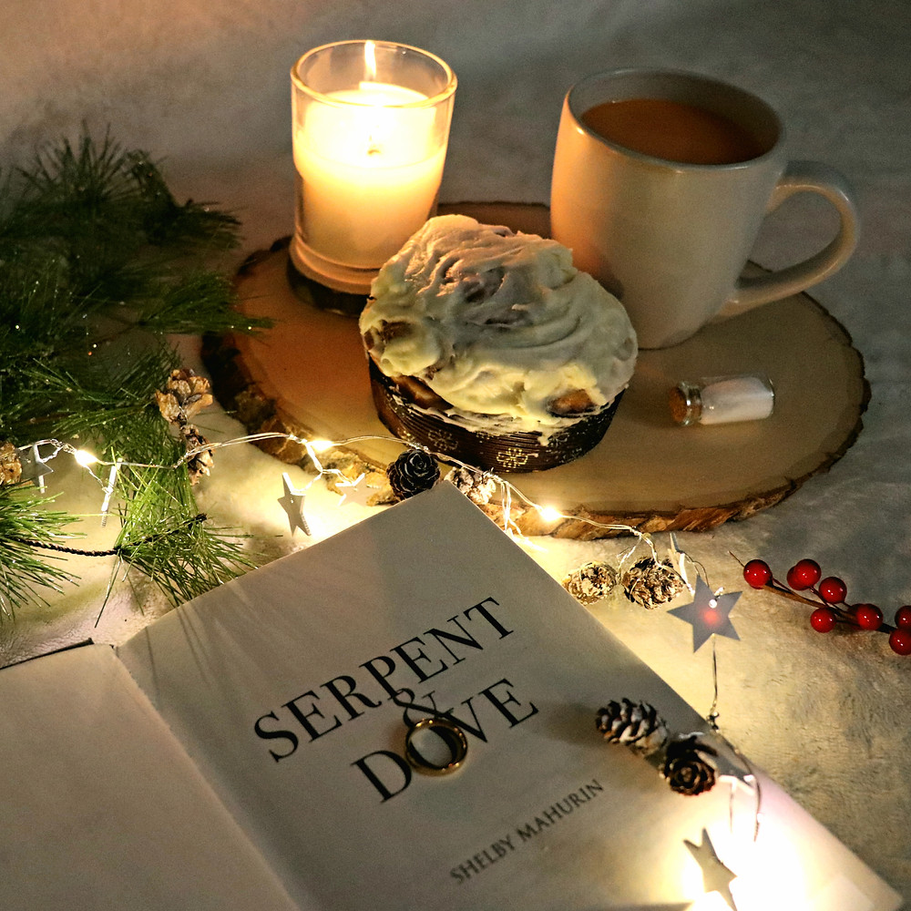 Coffee, Book, and Candle book review Serpent & Dove by Shelby Mahurin