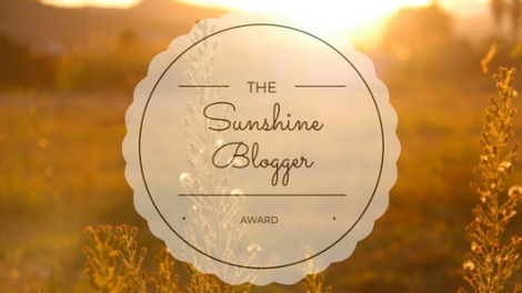Coffee, Book, & Candle Sunshine Blogger Award
