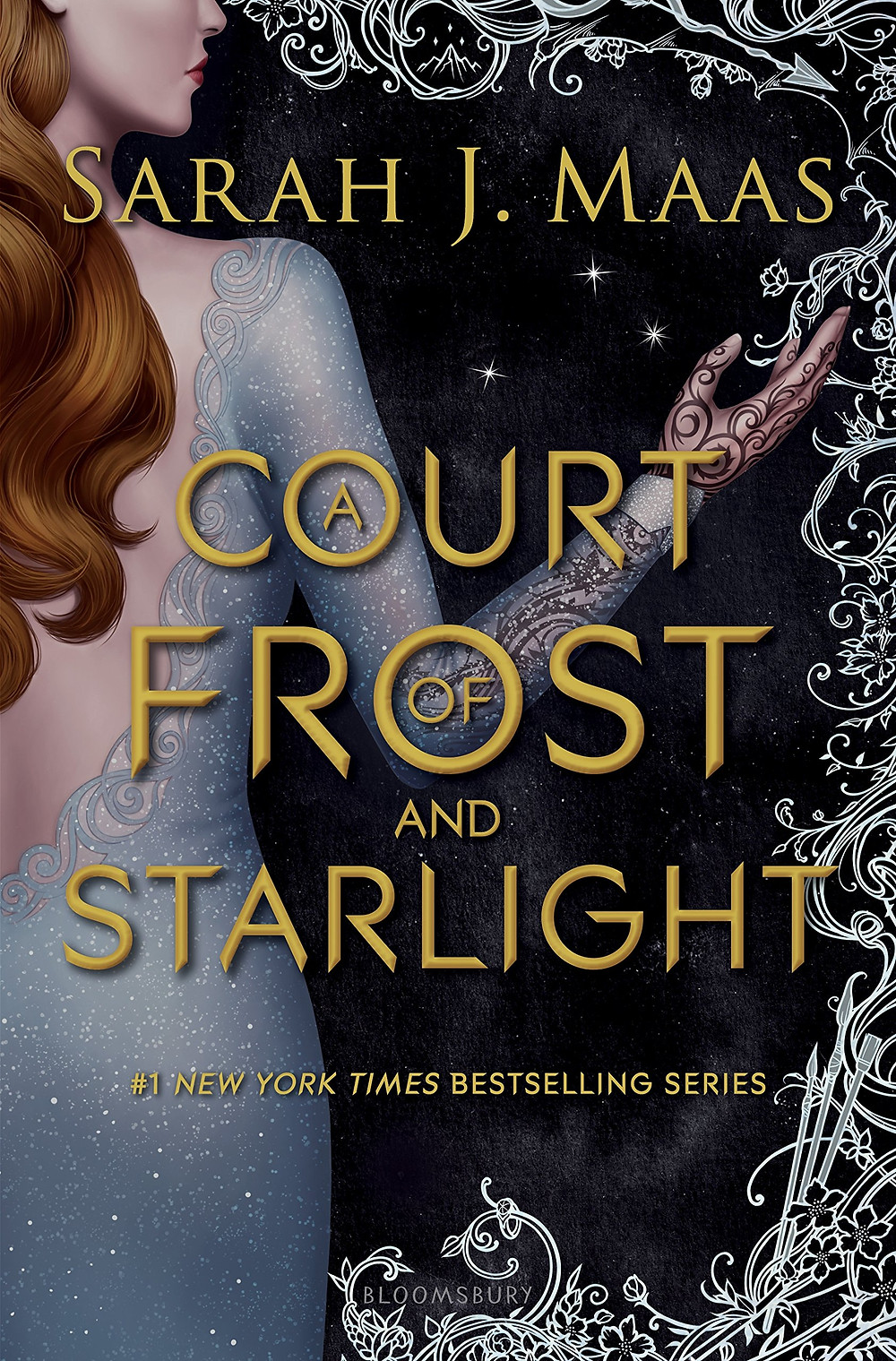 A Court of Frost and Starlight by Sarah J. Maas must-read winter book