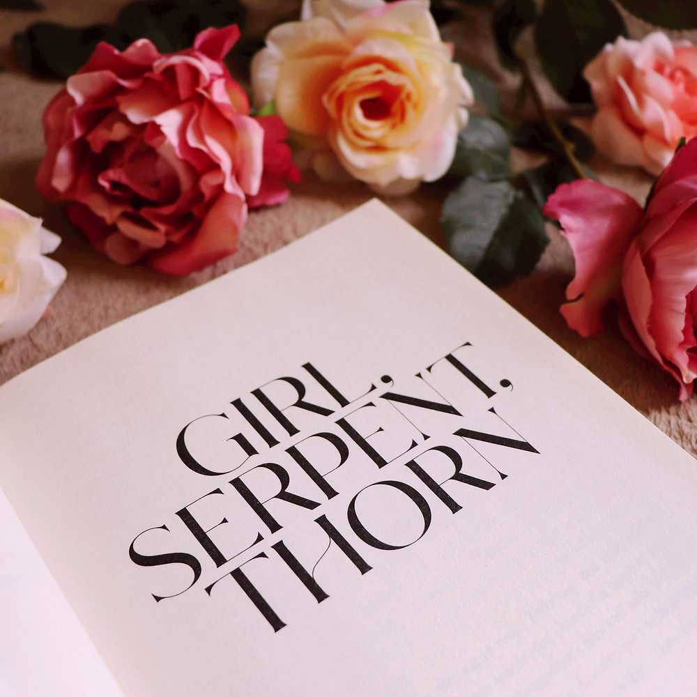 Girl, Serpent, Thorn Book Review @coffeebookandcandle