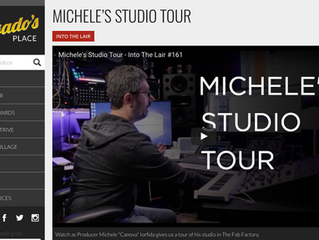 Michele Iorfida-Pensado's Place Studio Tour-Into The Lair #161