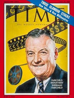 Sherman Fairchild Time July 25, 1960
