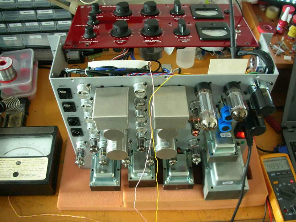 Custom AT-101 Red Amp Studios