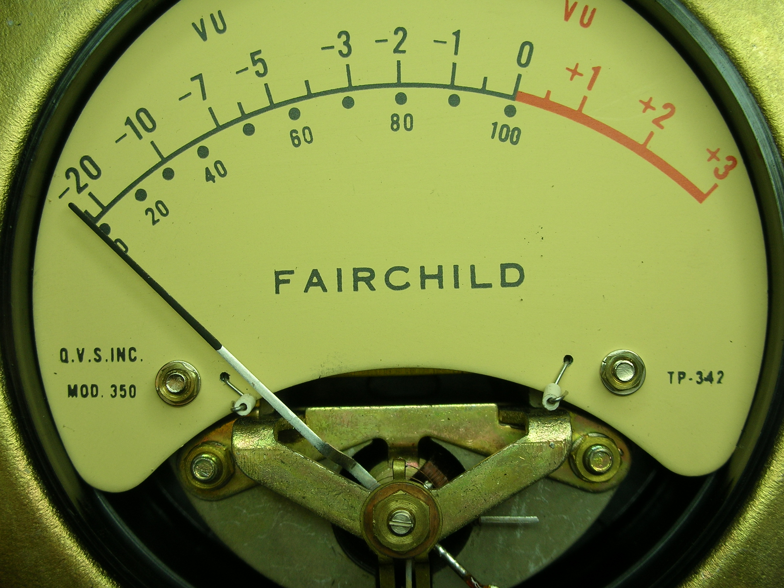 Original Fairchild 670 meter