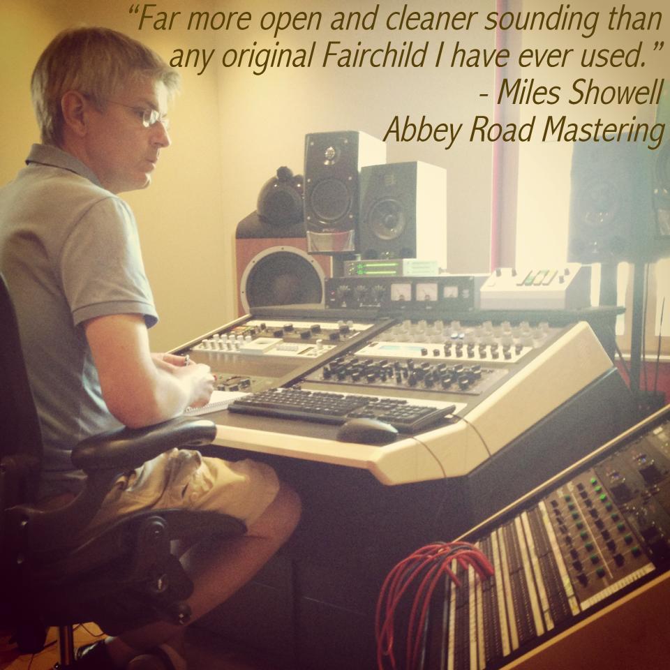 Miles Showell - Mastering Engineer