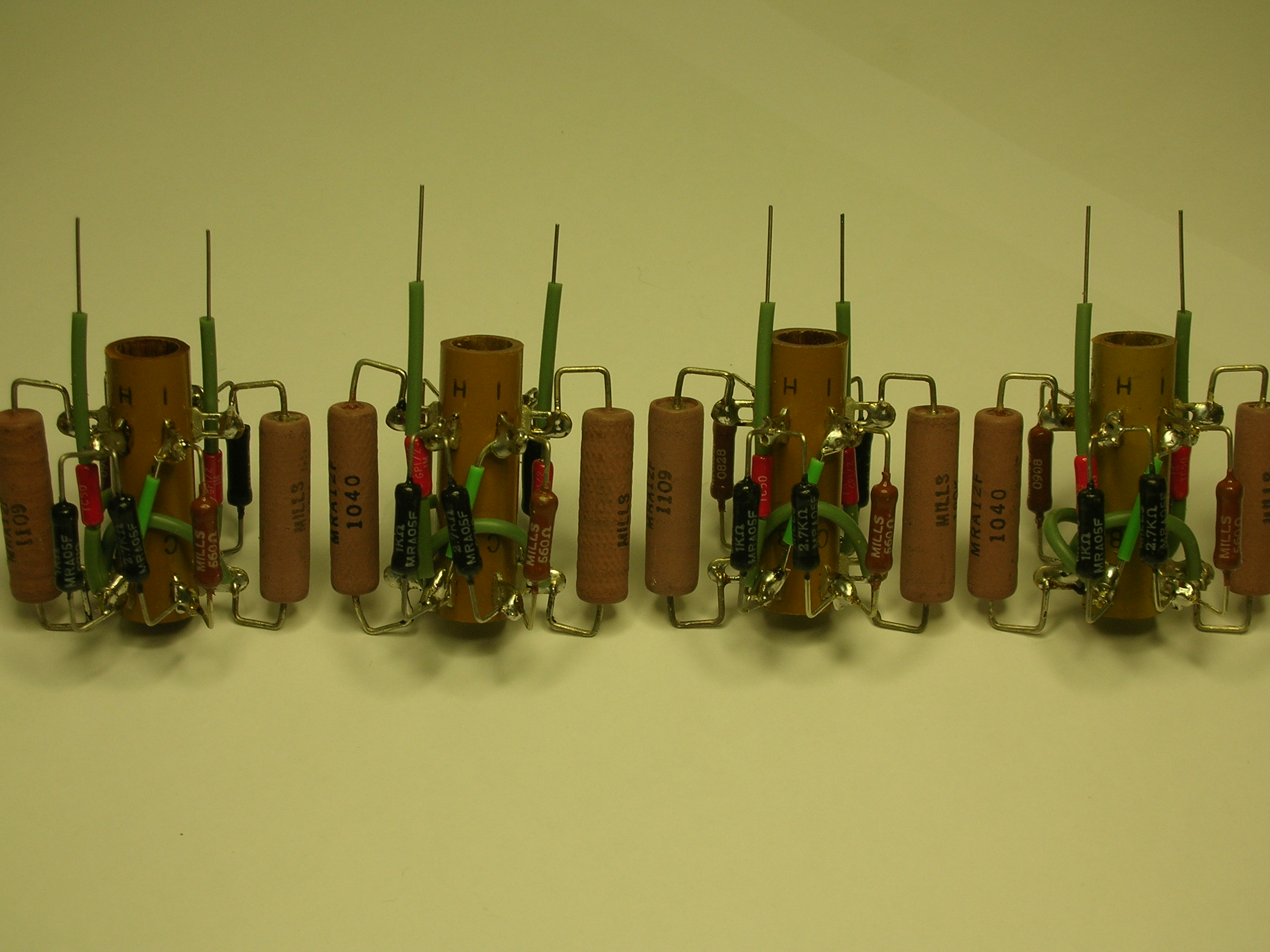 Original Vector Turret wiring