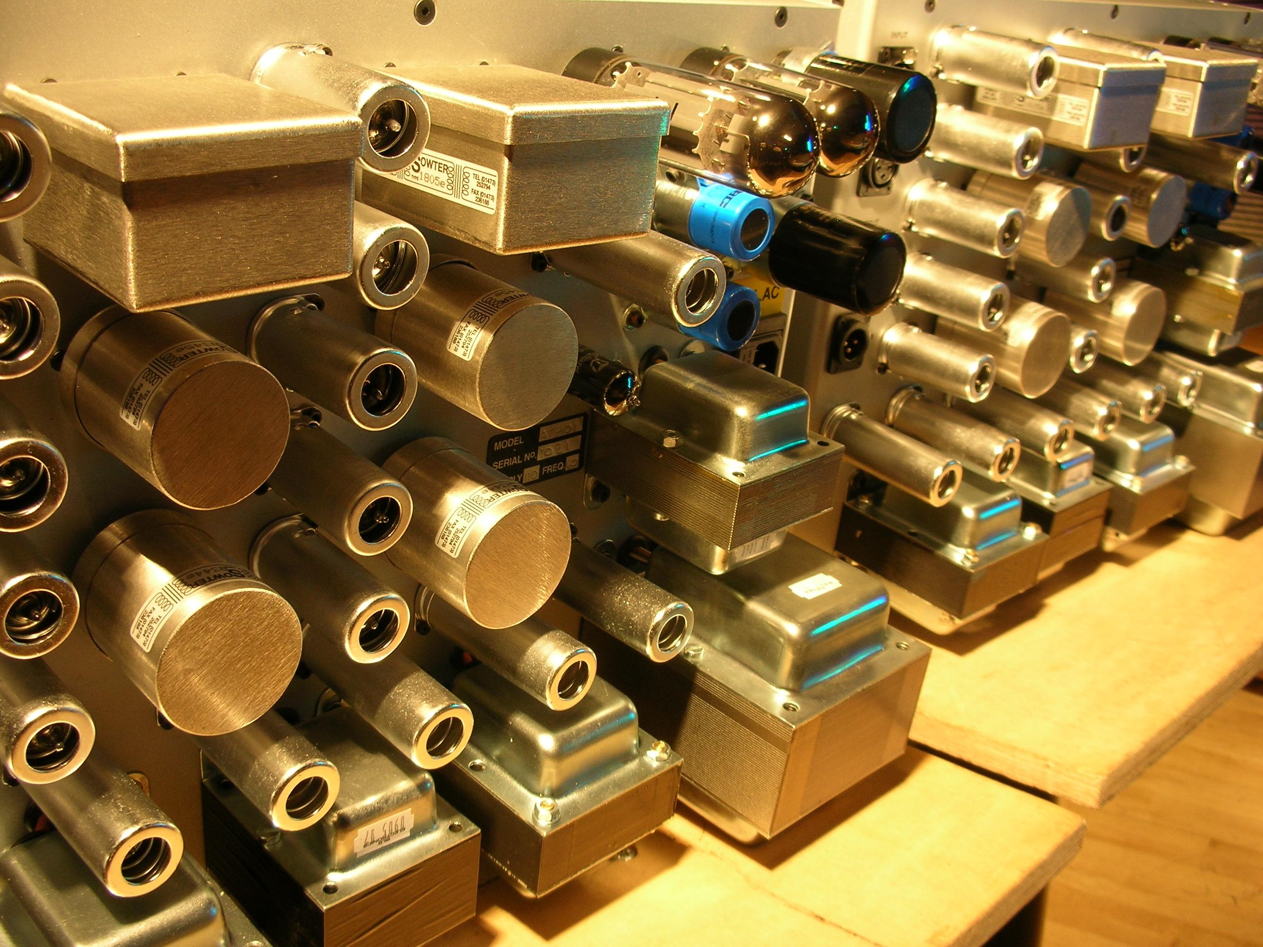 Custom AT-101 Stereo Limiters USA