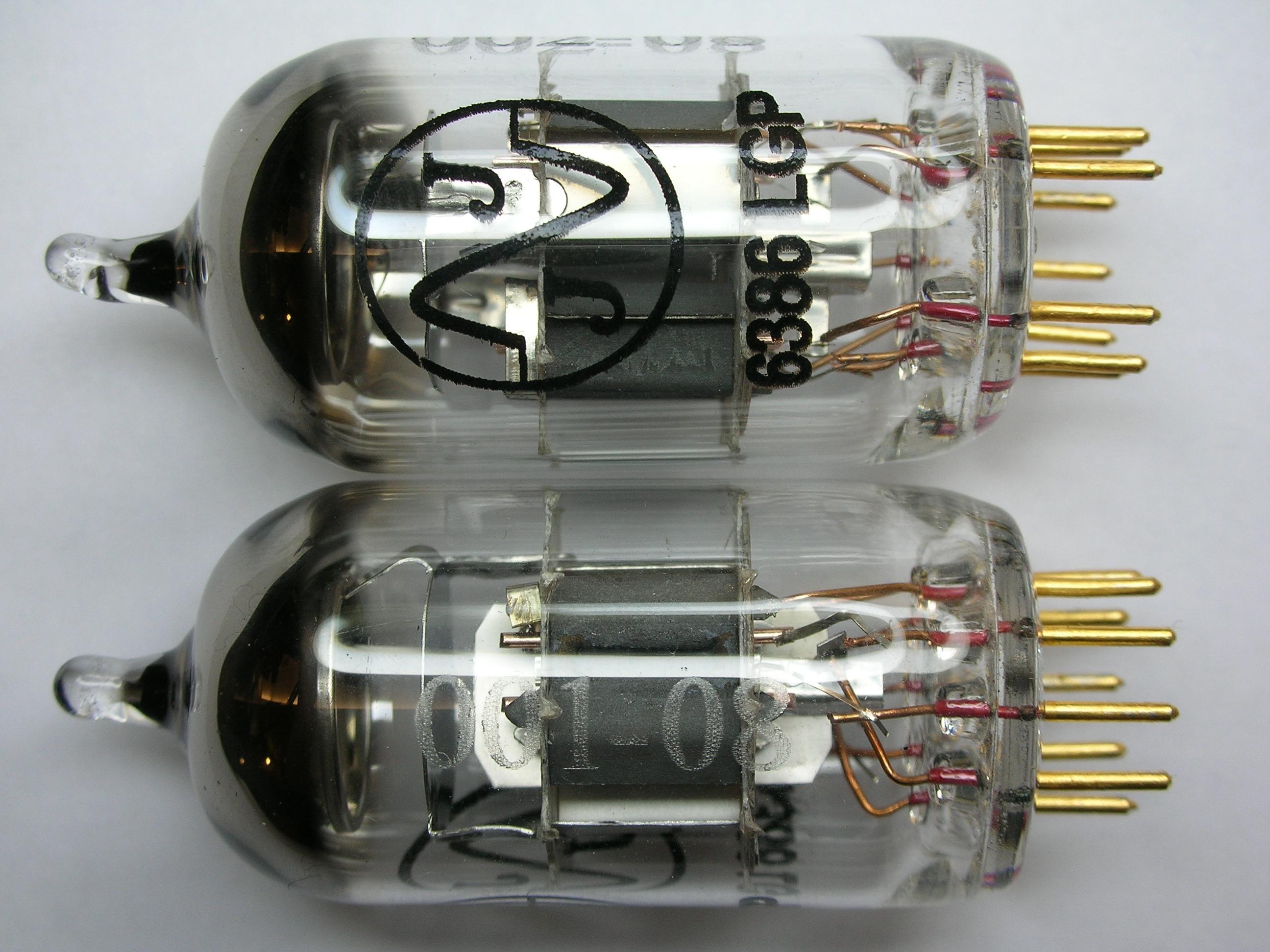 6386 Tubes s/n 001-002