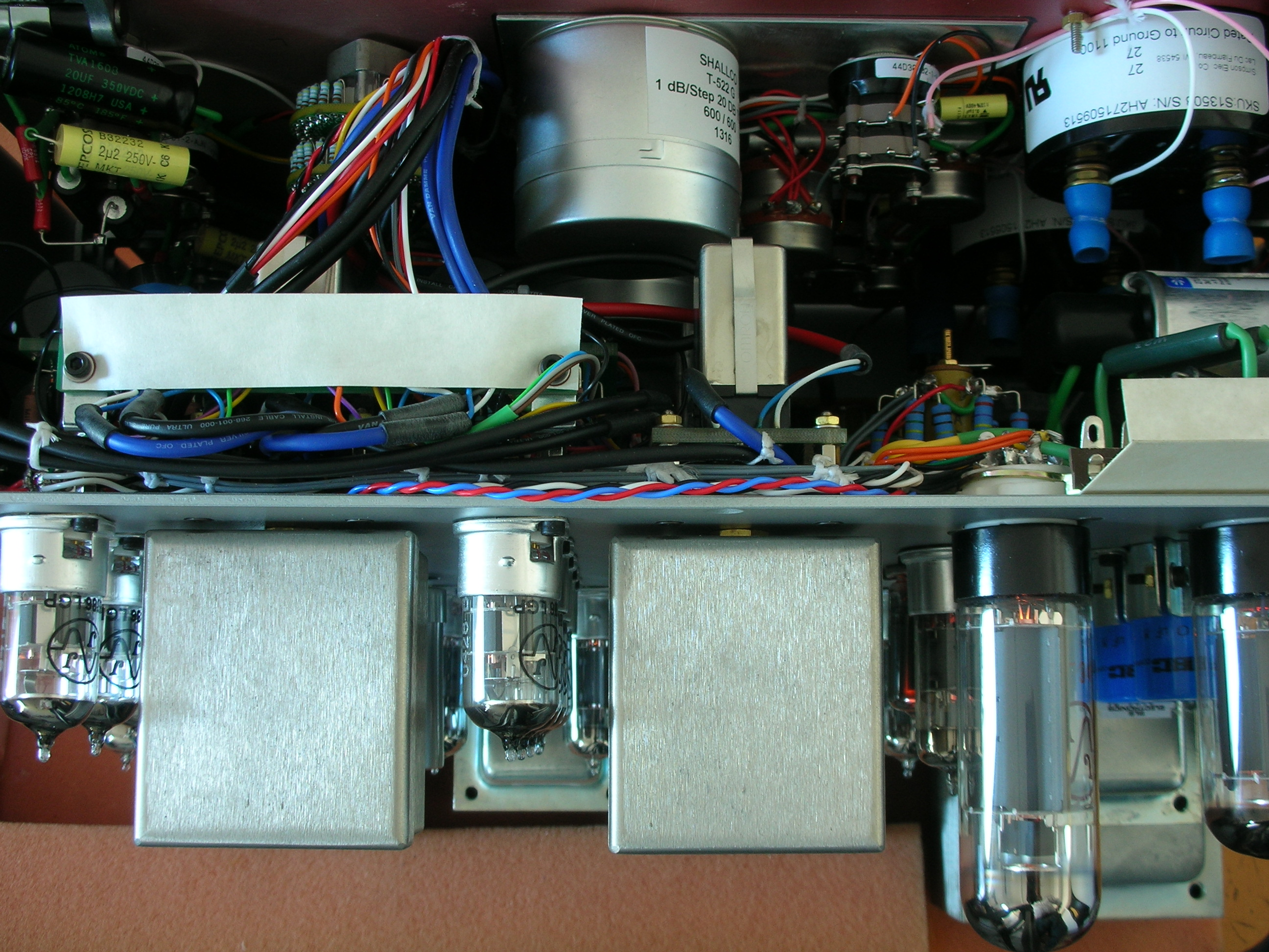 Top internal View AT-101 Limter