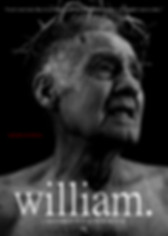 'william.' // Official Re-Release Poster (2019) // Designed by Matthew W.F. Senior // NOT ENOUGH KNIFE