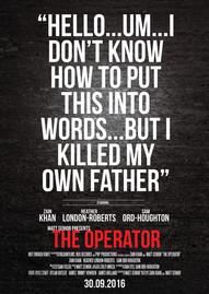 The Operator Official Poster by NOT ENOUGH KNIFE + Matt Senior