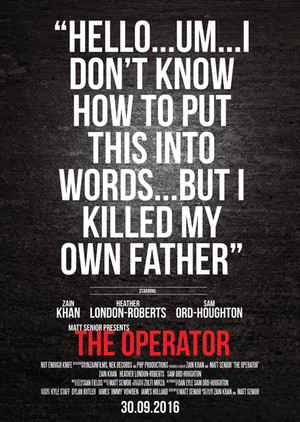 The Operator Official Poster by NOT ENOUGH KNIFE + Matt Senior