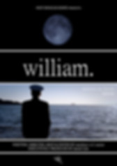 'william' Official Poster by NOT ENOUGH KNIFE + Matthew W.F. Senior
