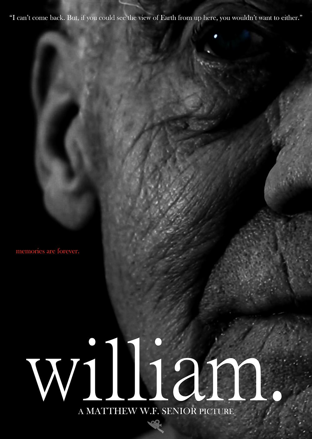'william.' Alternate Poster (2019)